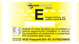Biglietto tariffa E